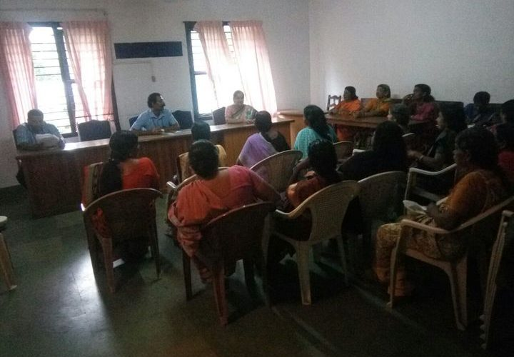 sanitation workers meeting in Thrissur held as a part of freedom from waste campaign