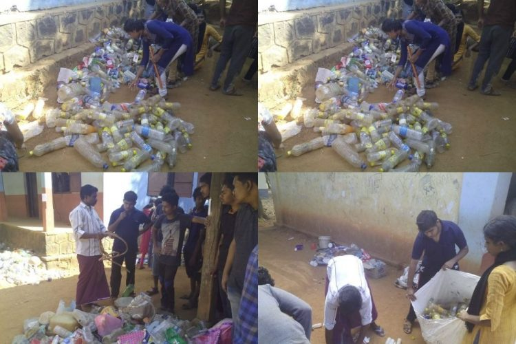 Plastic collection drive